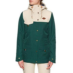 New Picture Organic Kate Jacket Emerald Nwt